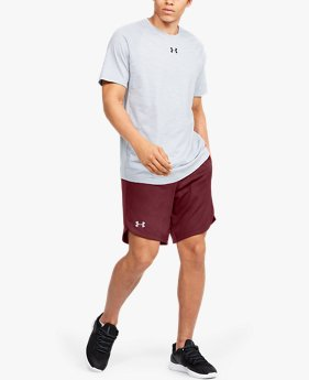 Herren UA Performance Trainingsshorts aus Strick